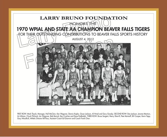 1970 Beaver Falls Team