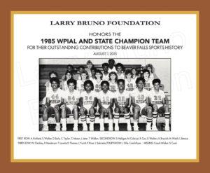 1985 Beaver Falls Girls Basketball