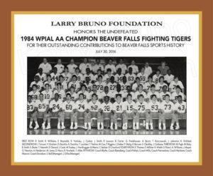 1984 Beaver Falls Football Team