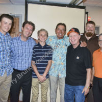 Jim Campbell and boys with Joe Ursidea and son