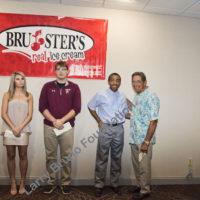 Joe N awards Bryce Allen