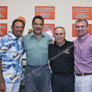 Joe N With Rick Mancini_Ron Main_Kevin Scanlon
