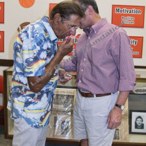 Quarterbacks Joe Namath And Kevin Scanlon