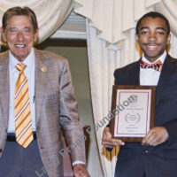 Scholarship winner Bryce Jordan Allen