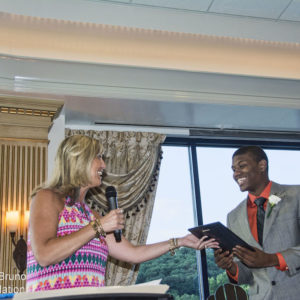 Toms Daughter Hands Out His Award LBF2015