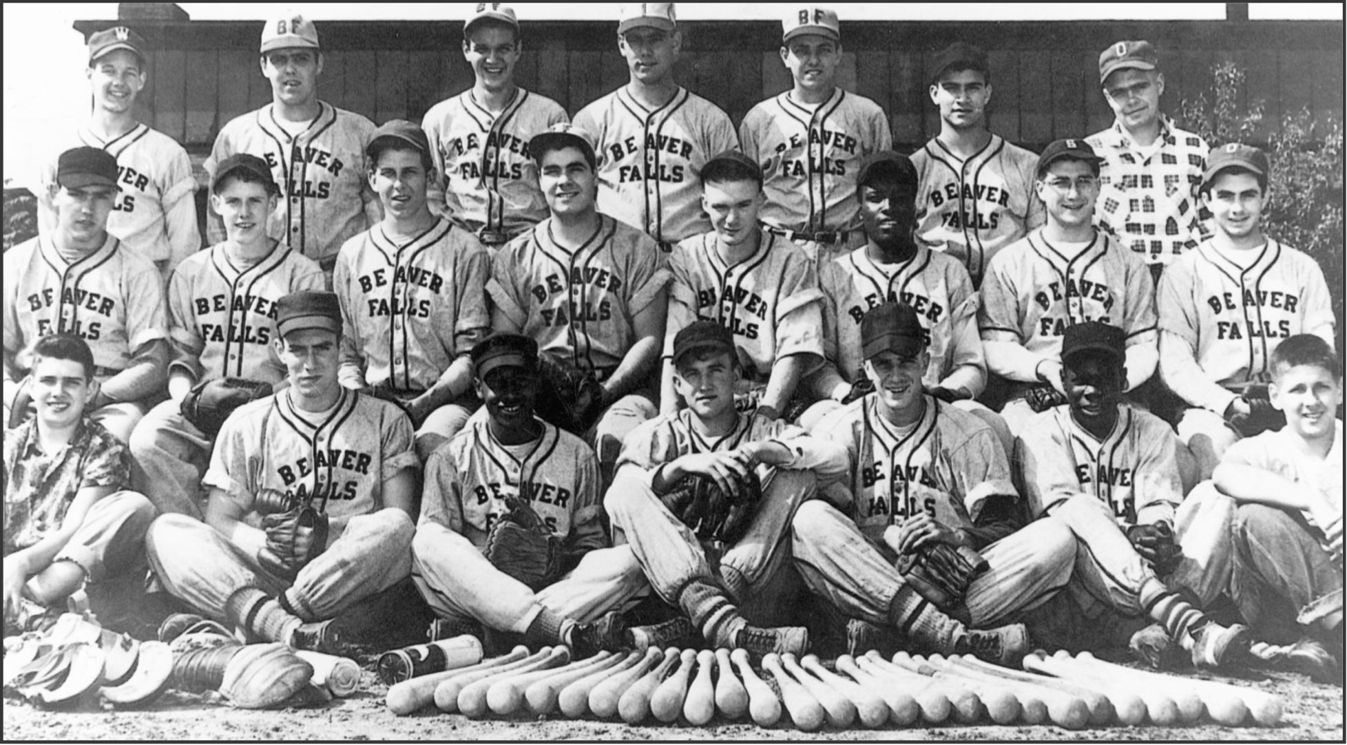 1952 BVHS Baseball Team